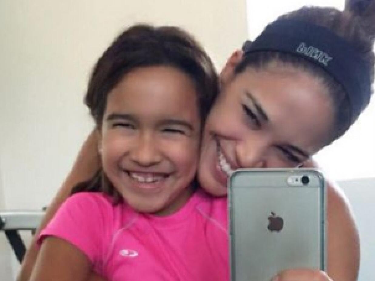 Hijas de Karla Martínez