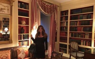 Paola Gutiérrez en la Casa Blanca