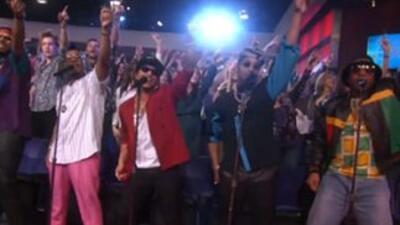 Bruno Mars Uptown Funk Ellen
