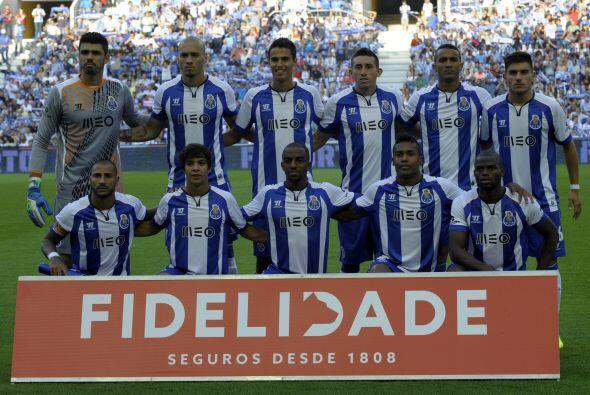 Este nuevo Porto estrenará el viernes el campeonato en el estadio...