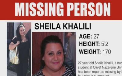 Piden ayuda a la comunidad para localizar a Sheila Khalili, desaparecida...