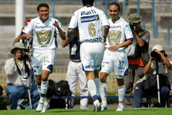 En el Clausura 2005 los Pumas arrancaron con el pie izquierdo con una vi...
