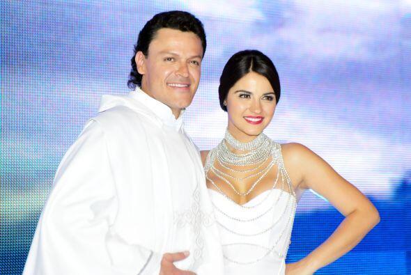Los dos asistieron a la presentación de esta nueva telenovela de Giselle...