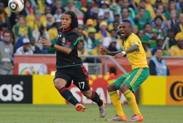 Giovani fue parte de los 23 elegidos por México para disputar el Mundial...