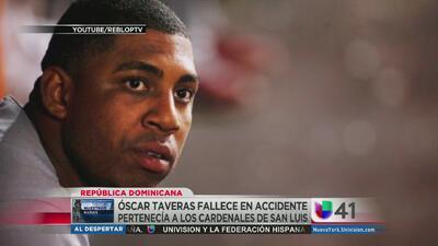 Murió pelotero Oscar Taveras en accidente