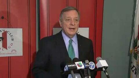 'Chicago en un Minuto': el senador Dick Durbin habla sobre el plan de lo...