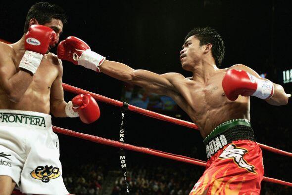 Freddie Roach dio la indicación a Manny Pacquiao de ir por el noc...