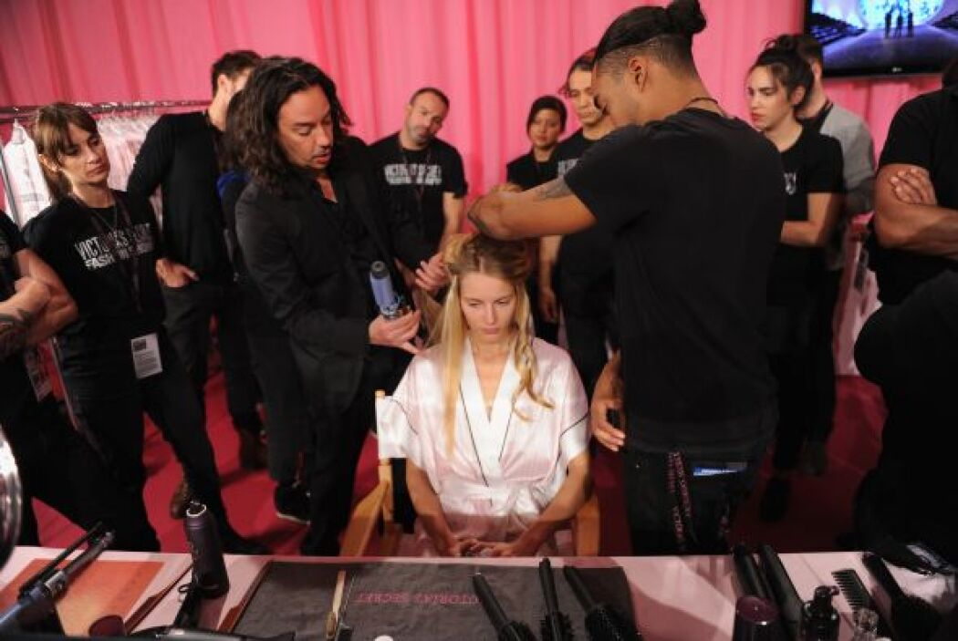 Lo hot del backstage de Victoria's Secret