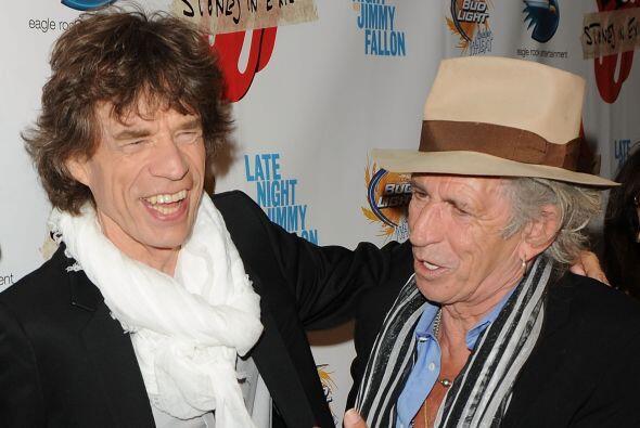 Richards es el mítico guitarrista de los Rolling Stones.