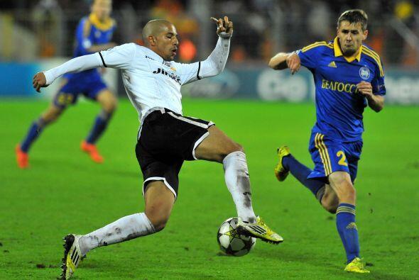 El Valencia español visitó al BATE Borisov bielorruso.