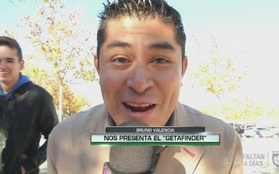 Bruno Valencia nos presenta el 'Getafinder'