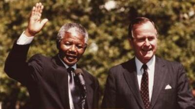 Mandela visitó la nación norteamericana pocos meses después de que fuera...