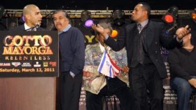 Ricardo Mayorga le dijo a Cotto que era un borracho. (Cortesia de David...
