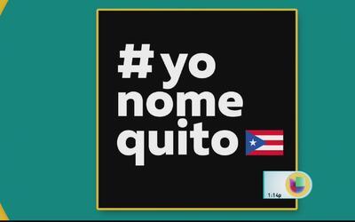 Creador de #YoNoMeQuito reacciona a críticas