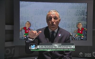 #AskCrack: ¿Cómo era Hugo Sánchez como rival?