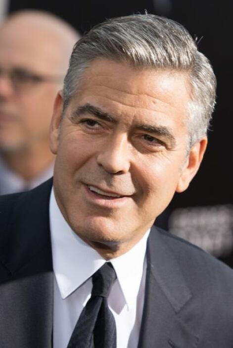George Clooney, el rompecorazones de siempre.