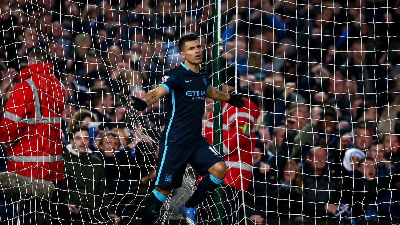 Agüero marcó los goles del empate para el Manchester City