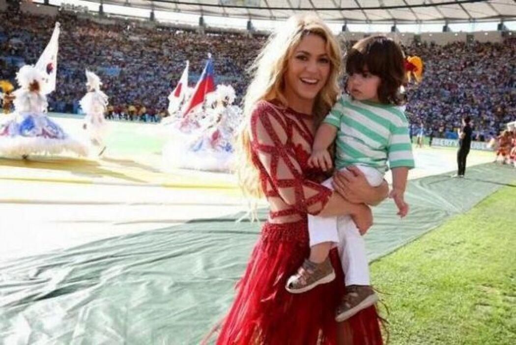 Shakira Milan en mundial