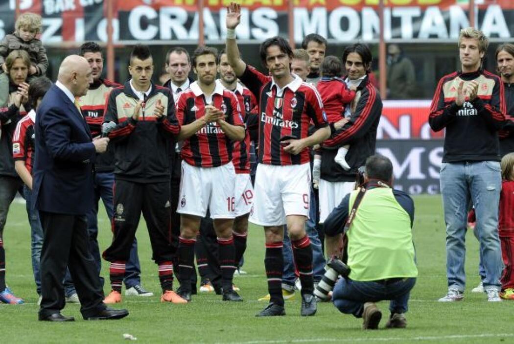 9. AC MILAN- El valor del AC Milan tuvo un aumento del 7%, su total es d...