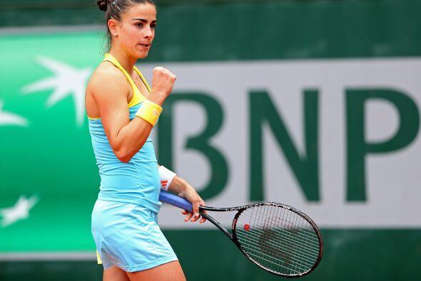 Paula Ormaechea de Argentina logró avanzar a la tercera ronda del Abiert...