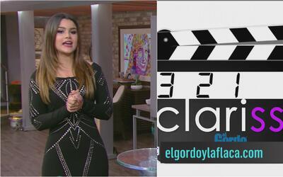 Clarissa Molina anunció el estreno de su nueva Web Serie, 321 Clarissa!...