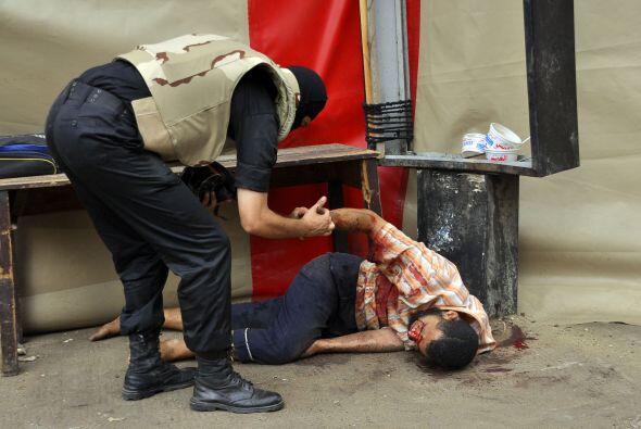 También ha habido muertos y heridos en las provincias de Beheira...