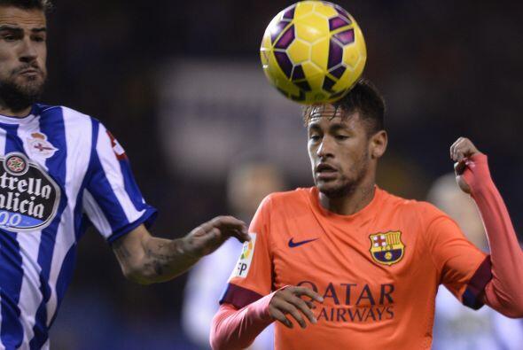 Neymar tuvo una actuación destacada pero el brasileño no estuvo cerca de...