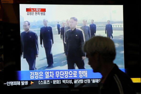 Kim definió la nueva estrategia política del régime...