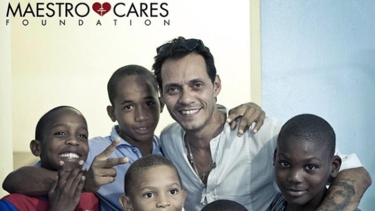 Marc Anthony y su fundación