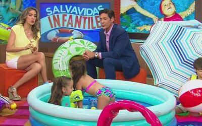 Lo último en salvavidas infantiles para la piscina