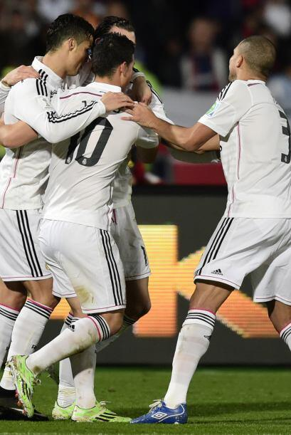 Con el resultado Real Madrid se proclamaba Campeón del Mundo a nivel clu...