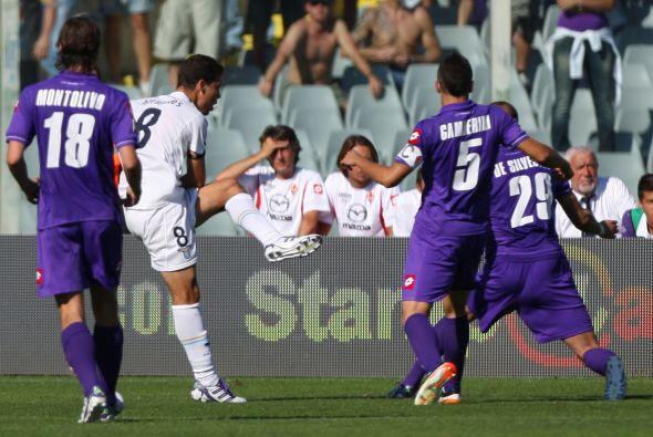 El equipo de Florencia se puso en ventaja, pero el conjunto lazial reacc...