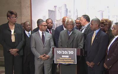 Representante Danny Davis propone el programa '10/20/30' para reducir la...
