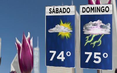 Temperaturas ideales acompañarán el sábado y habrá posibilidad de tormen...