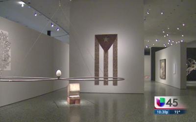 Arte latinoamericano en museo de Houston