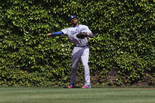 El jardinero Matt Kemp (Dodgers).