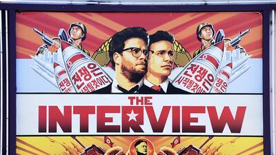 """Se celebra la libertad de expresión con el estreno de """"The Interview"""""""