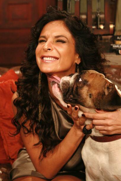 Hasta Sócrates se emocionó con la actriz y le dio tremendo...