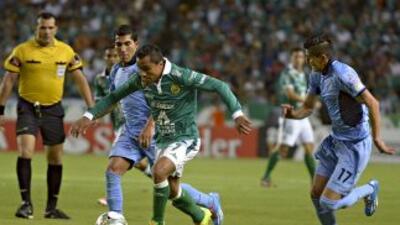 León y Bolivar empataron en la Copa Libertadores.