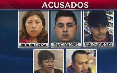 Varias personas fueron arrestadas en conexión con una serie de robos de...