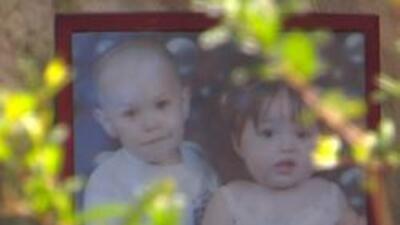 Foto de los niños que fueron sequestrados Jesus y Vanessa