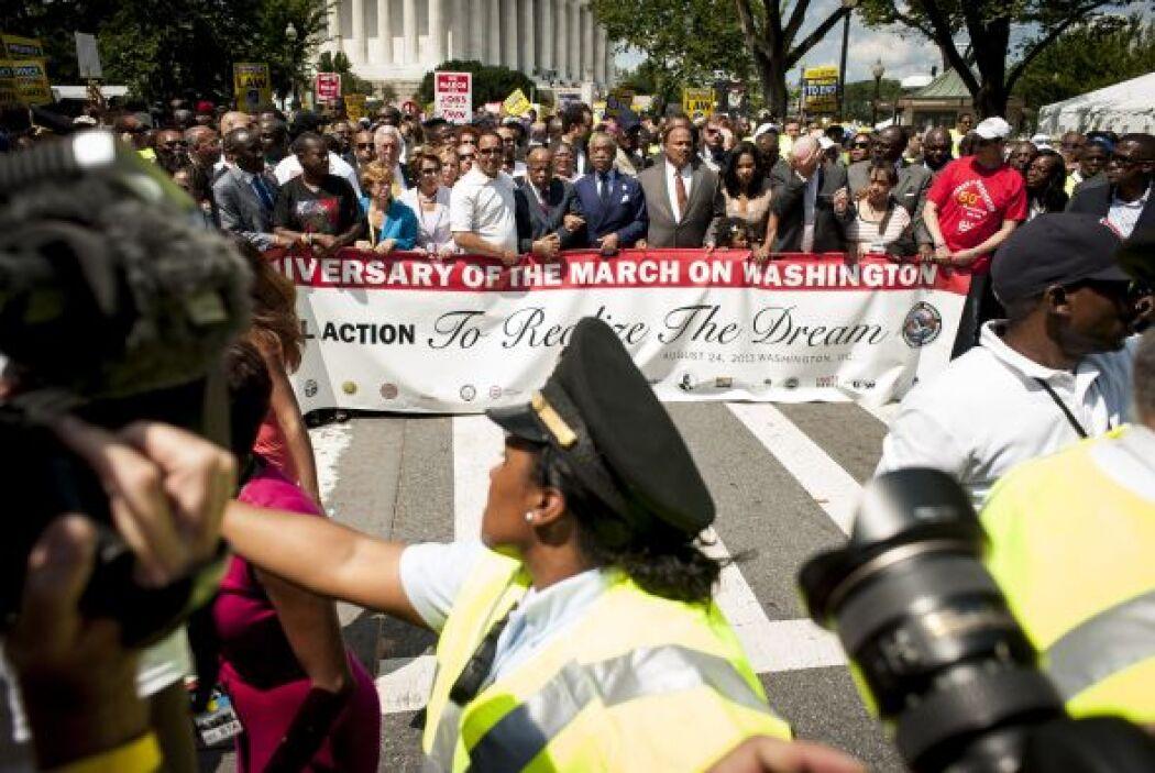 """""""Estoy aquí en apoyo de esta marcha porque hay muchas injusticias en est..."""