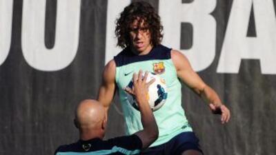 El capitán barcelonista ha seguido con su proceso de recuperación y disp...