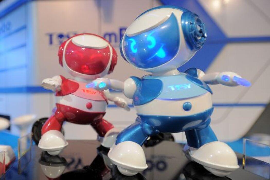 Tosy Disco Robots de Vietnam te pondrán a bailar.