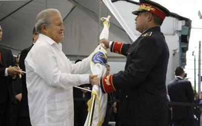 El presidente salvadoreño, Salvador Sánchez Cerén, protagonizó el traspa...