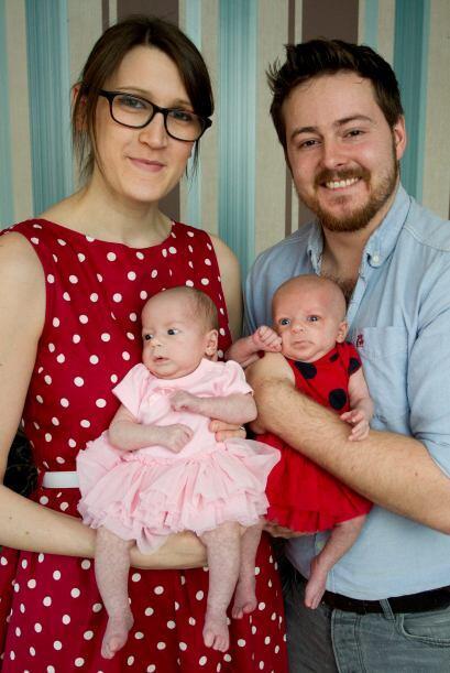 Para la joven pareja el hecho de convertirse en padres fue un sueño hech...