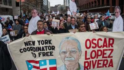 Por años, la liberación del preso boricua Oscar Lóp...