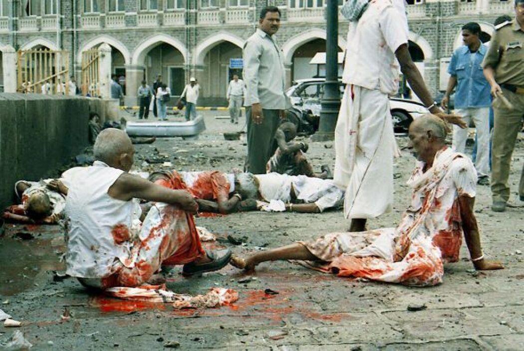 El 26 de noviemnbre de 2008, Bombai, India, fue el blanco del terrorismo...