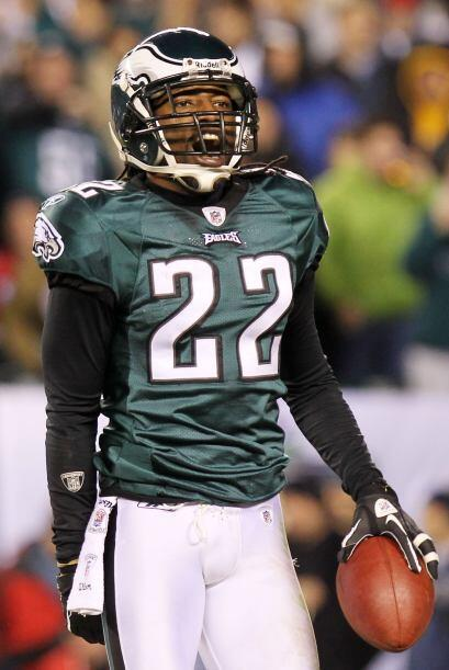 54. Asante Samuel (defensivo secundario - Philadelphia Eagles)