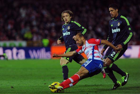 El Granada nunca se le achicó al Madrid y la victoria fue justa.